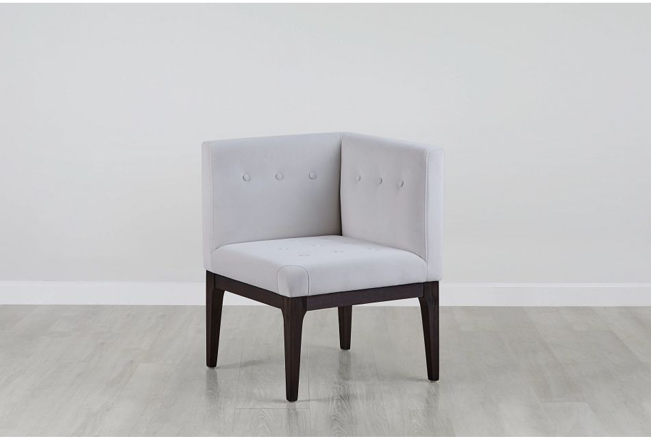 Reilly Pewter Velvet Accent Chair