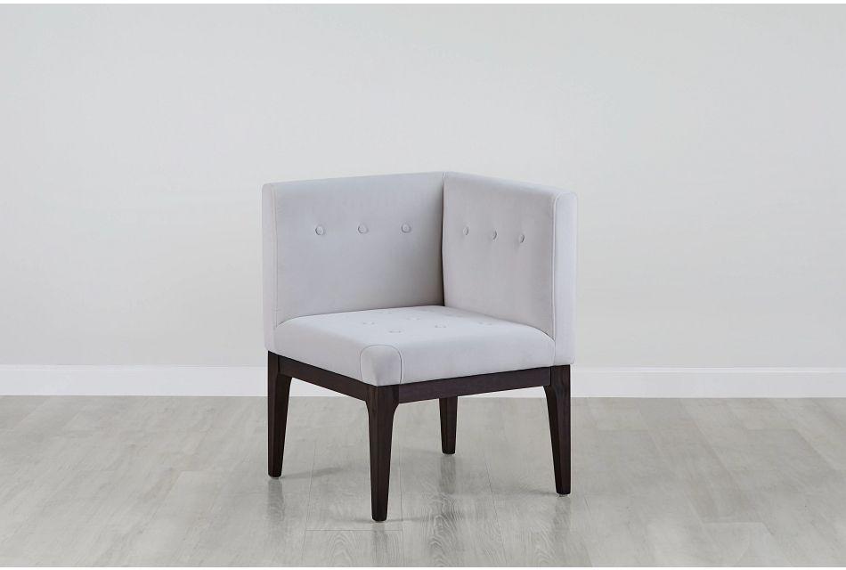 Reilly Pewter Velvet Accent Chair
