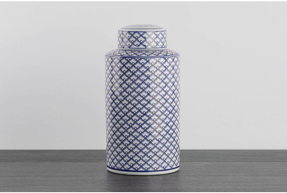 Jade Blue Small Jar