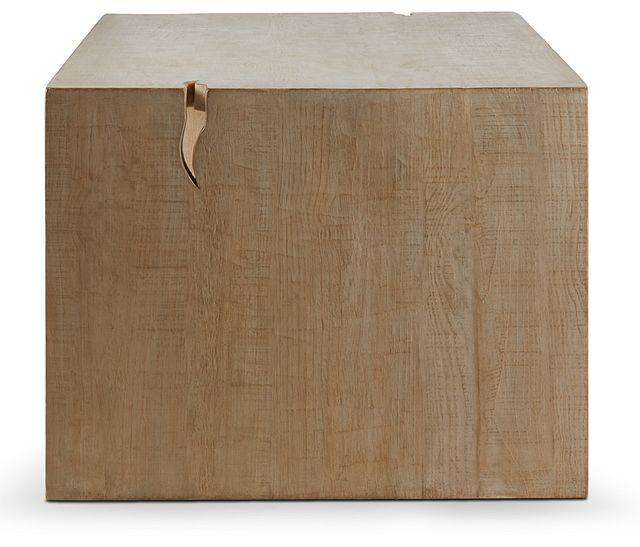 Merwin Light Tone Wood Rectangular Table (3)