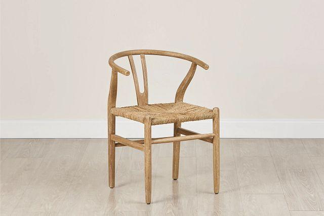 Moya Light Tone Wood Side Chair (0)