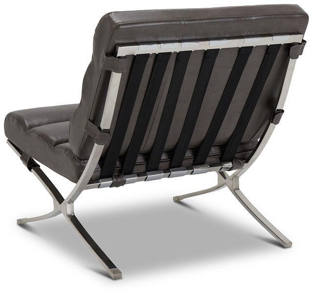 Tatiana Dark Gray Micro Accent Chair