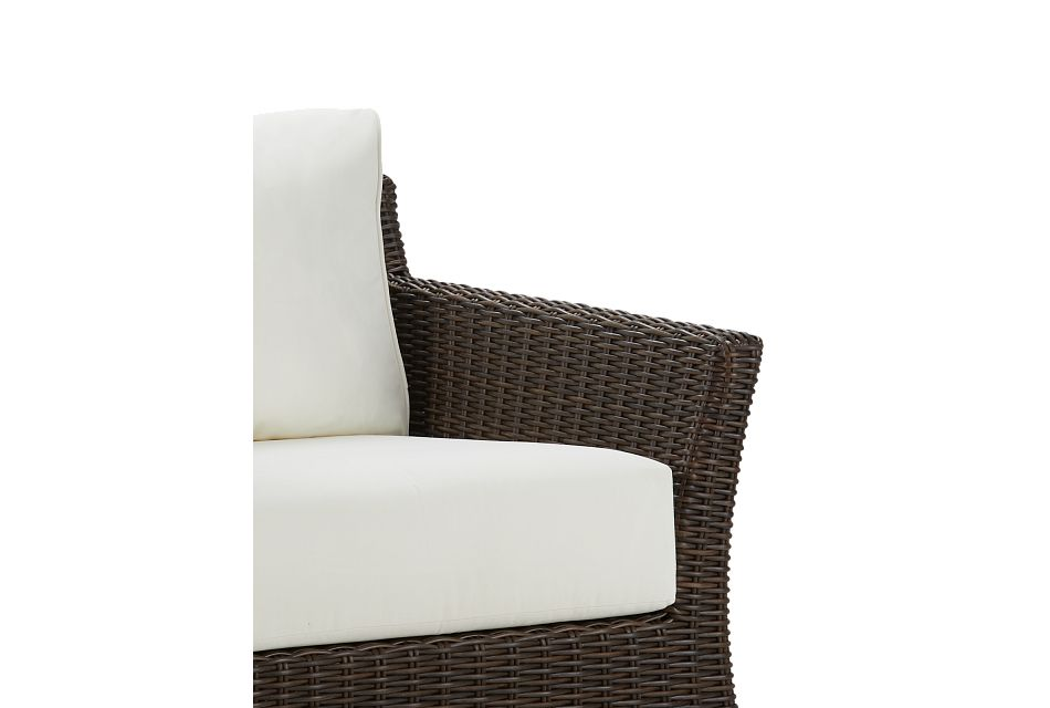 Southport White Woven Chair