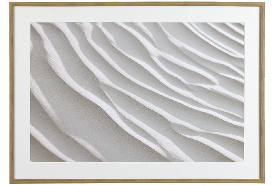 Ebony Beige Framed Wall Art,  (0)