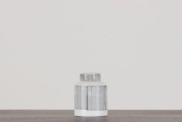 Rigel Gray Ceramic Jar (0)