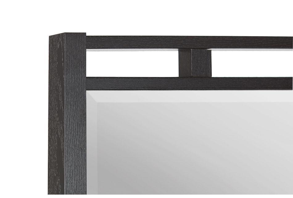 Sutton Dark Tone Dresser & Mirror