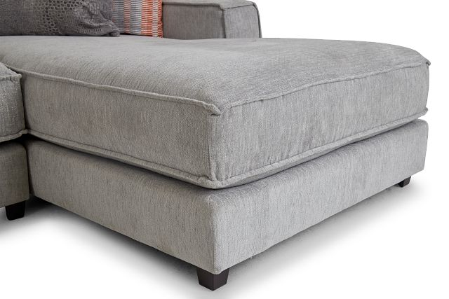 Taylor Gray Fabric Right Chaise Sectional