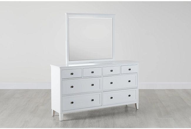 Cooper White Dresser & Mirror