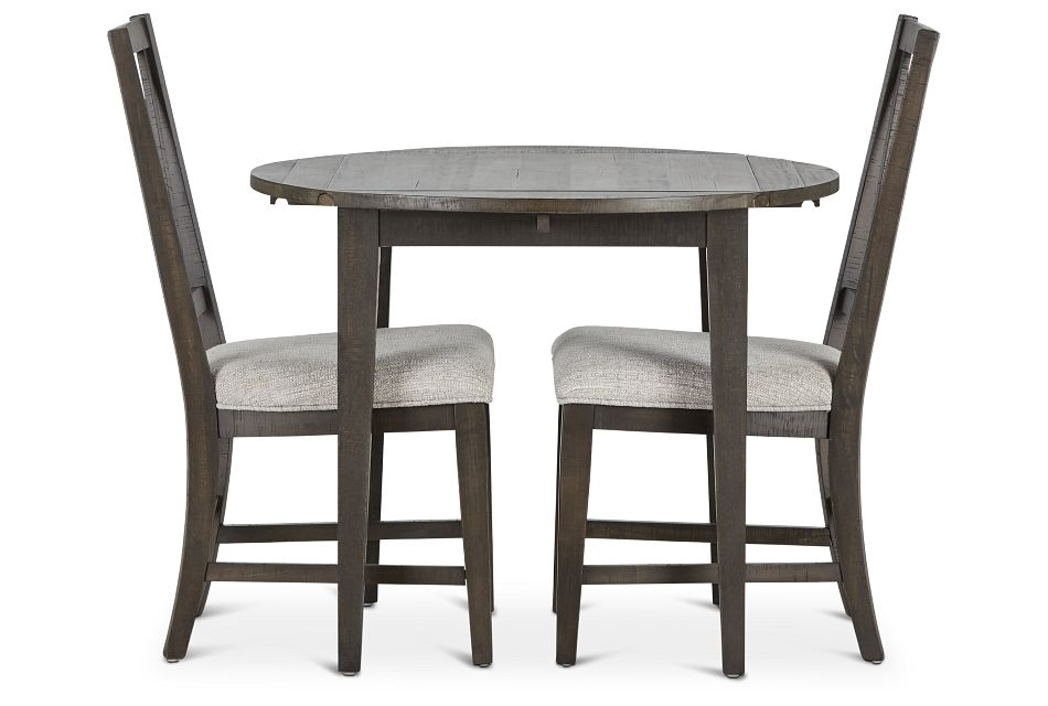 "Heron Cove Dark Tone 38"" Table & 2 Chairs,  (2)"