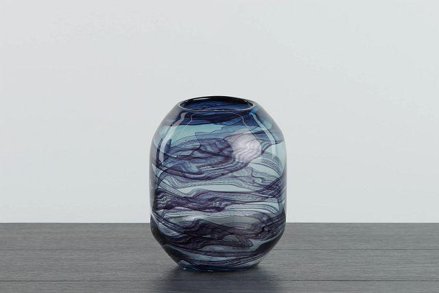 Cocoa Dark Blue Vase (0)