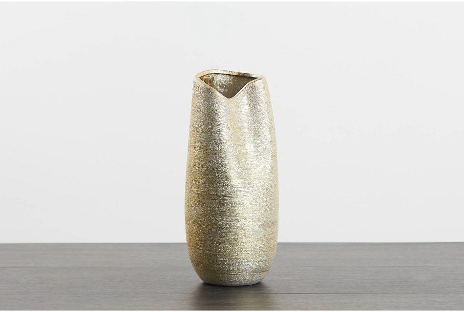 Beth Gold Vase