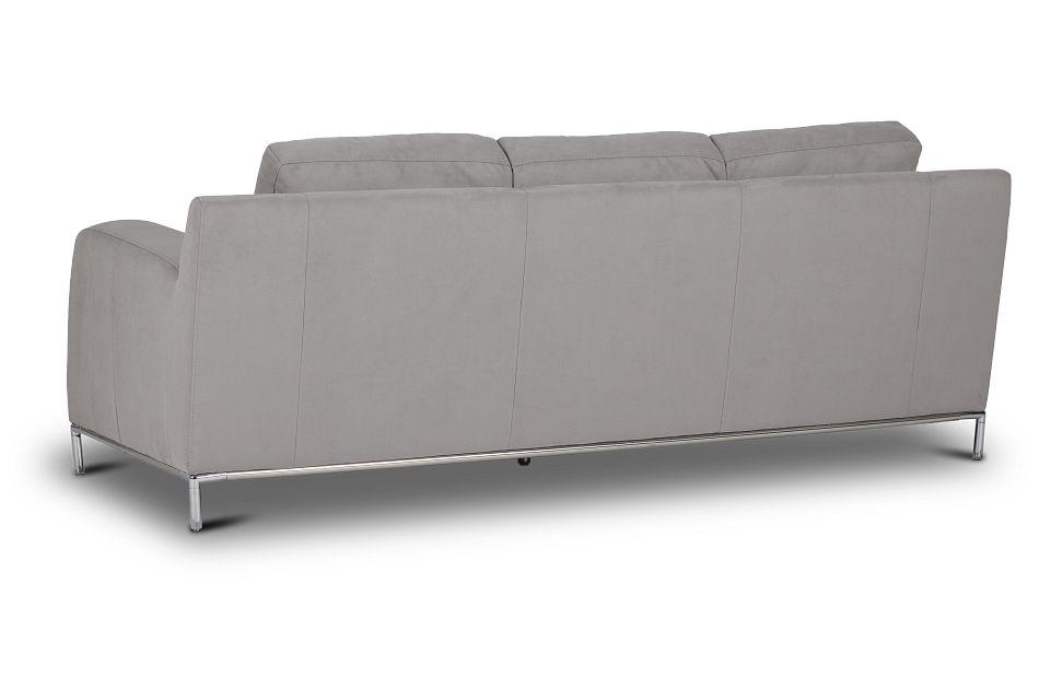 Wynn Light Gray Micro Sofa,  (0)