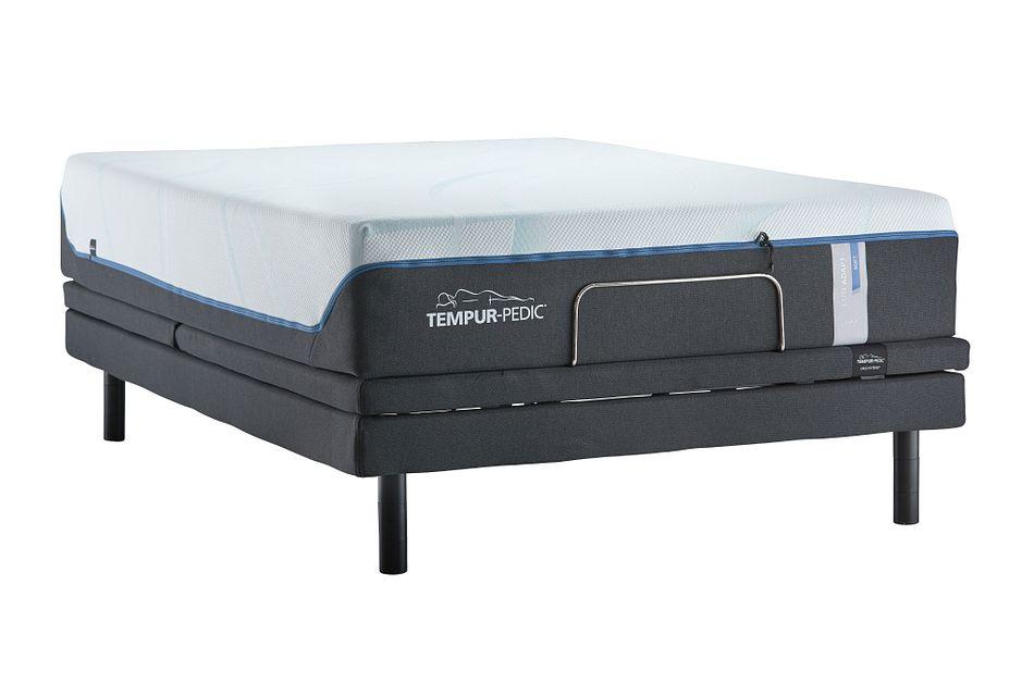 Tempur-luxe Adapt Plush Ergo X Adjustable Mattress Set