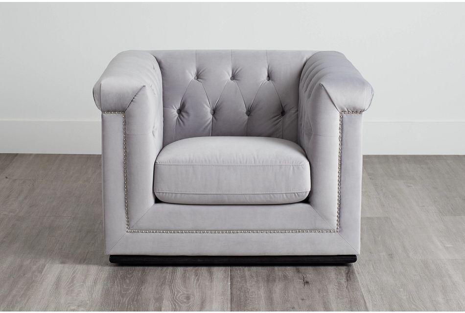 Blair Gray Micro Chair,