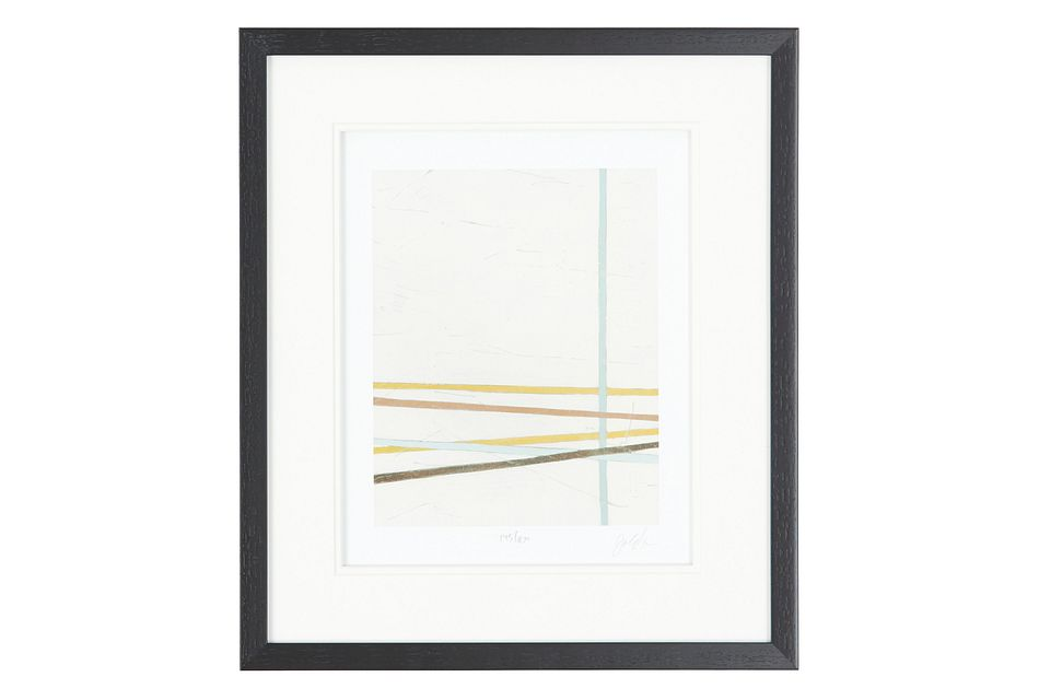 Streak Multicolored Framed Wall Art