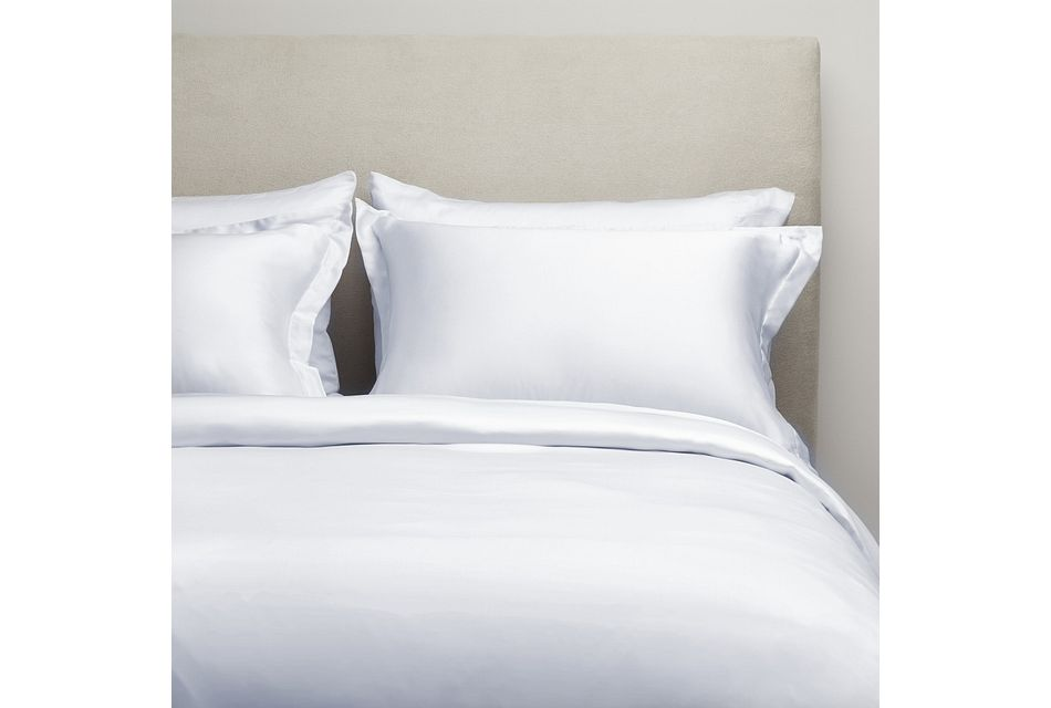 Tencel White 300 Thread Duvet Set