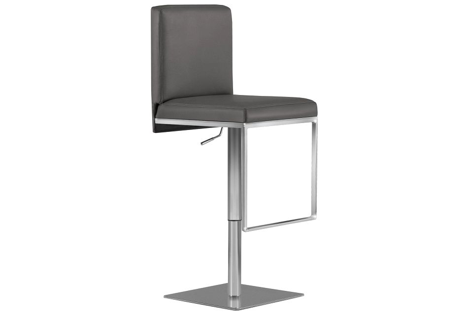 Berlin Gray Uph Adjustable Stool