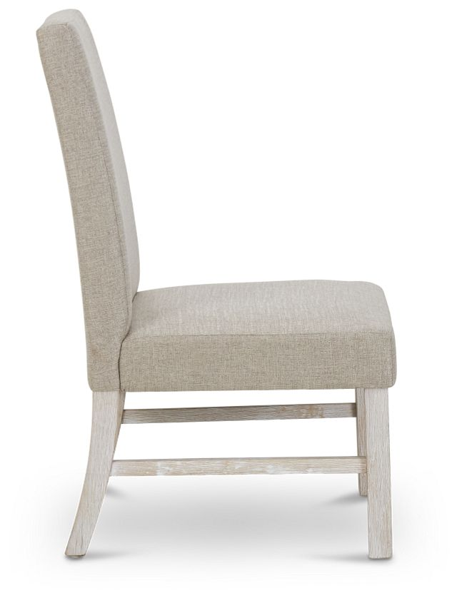 Jefferson Gray Upholstered Side Chair (2)