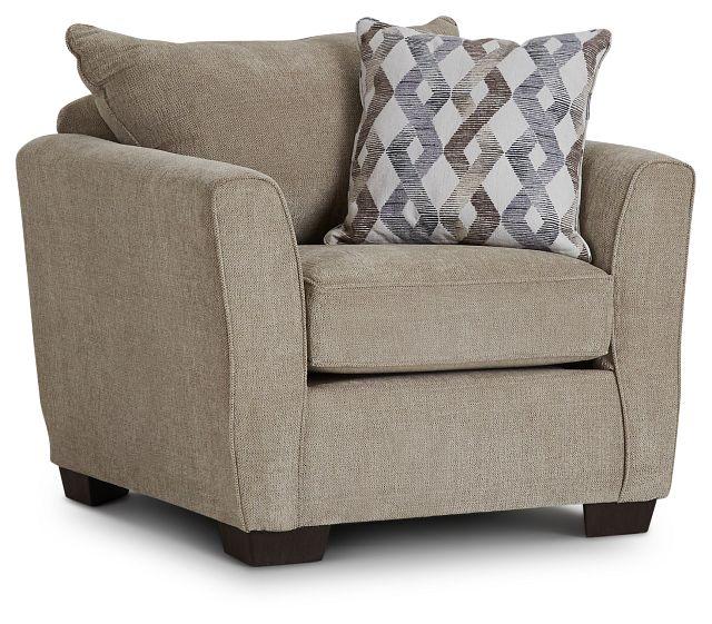 Myra Beige Fabric Chair (1)