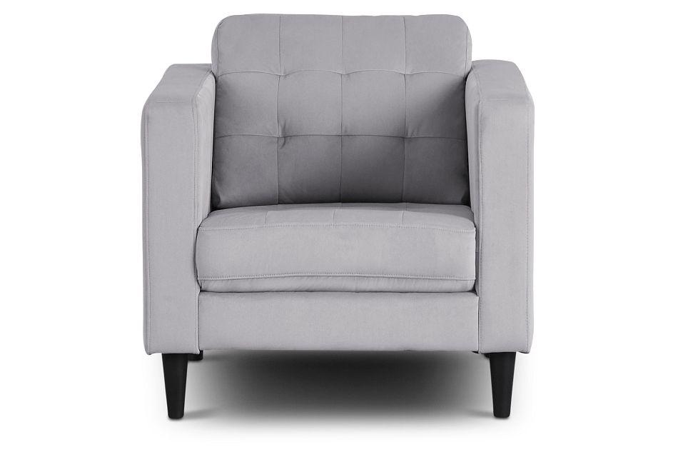 Shae Light Gray Micro Chair,