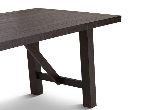 Cash Gray Rectangular Table