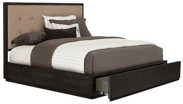 Madden Dark Tone Platform Storage Bed (3)