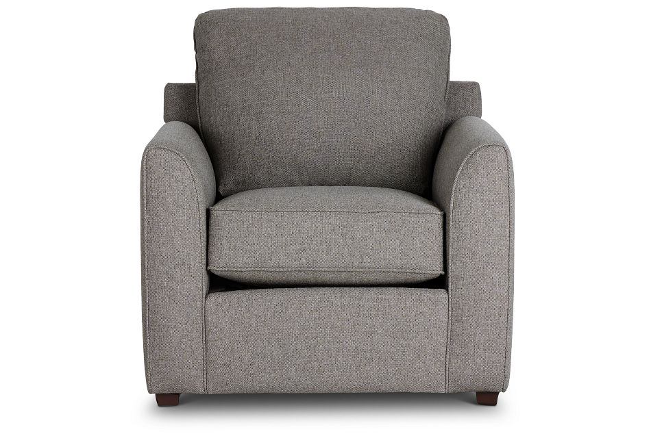 Asheville Brown Fabric Chair,  (3)