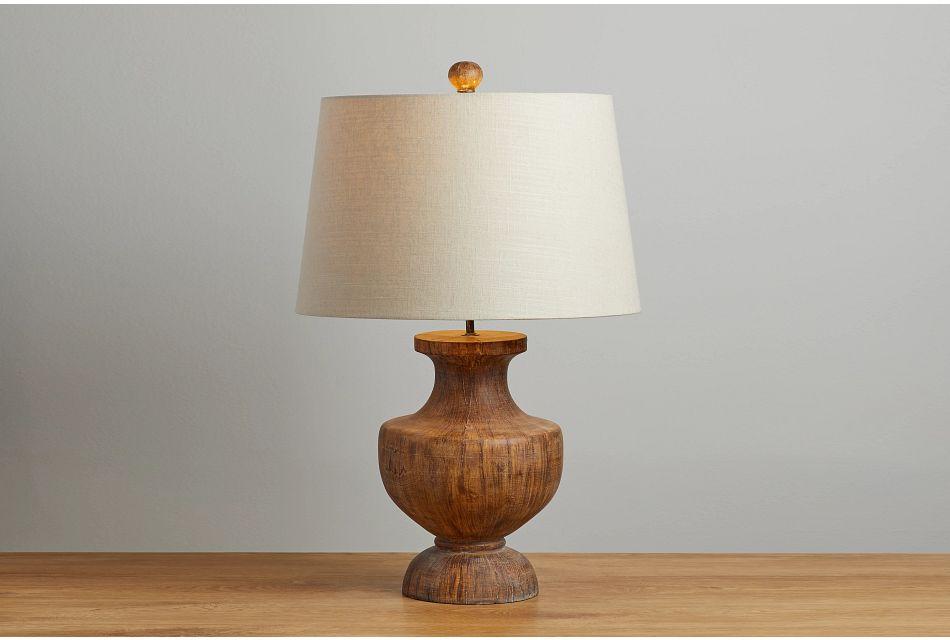 Stella Brown Table Lamp,  (0)