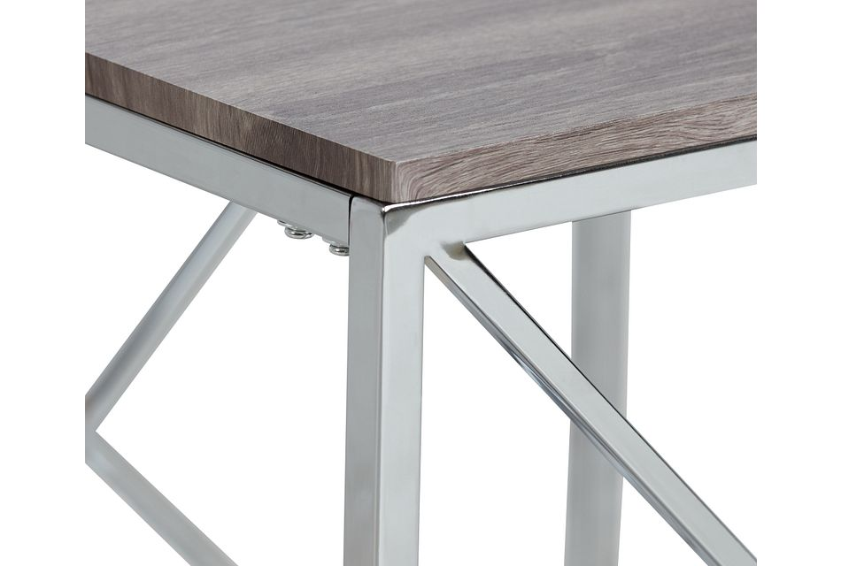 Lauryn Gray End Table