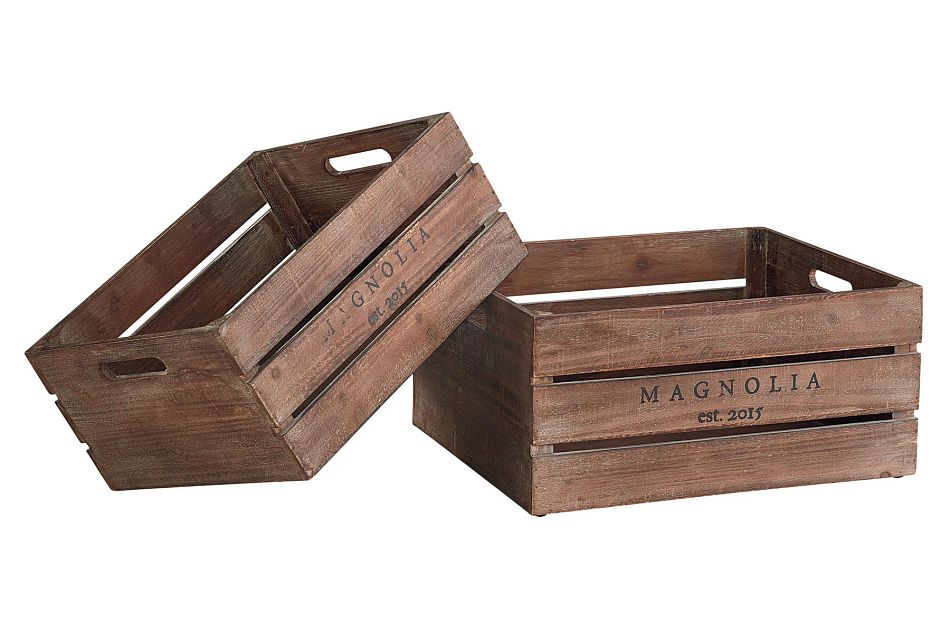 Harvest Crate Set Of 2 Crate