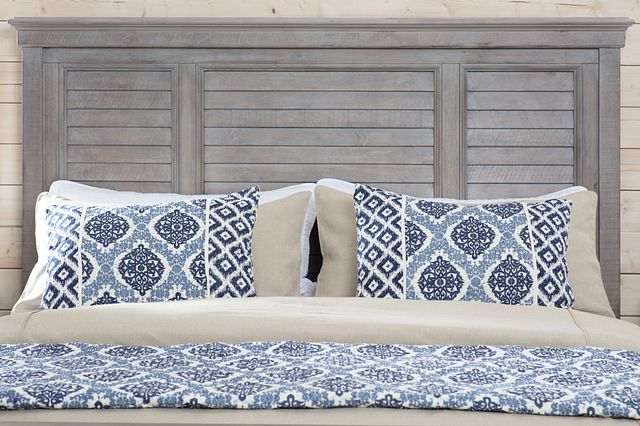 Sonoma Light Tone Panel Bed (2)