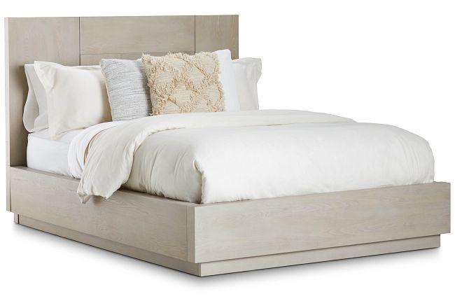 Destination Light Tone Platform Bed