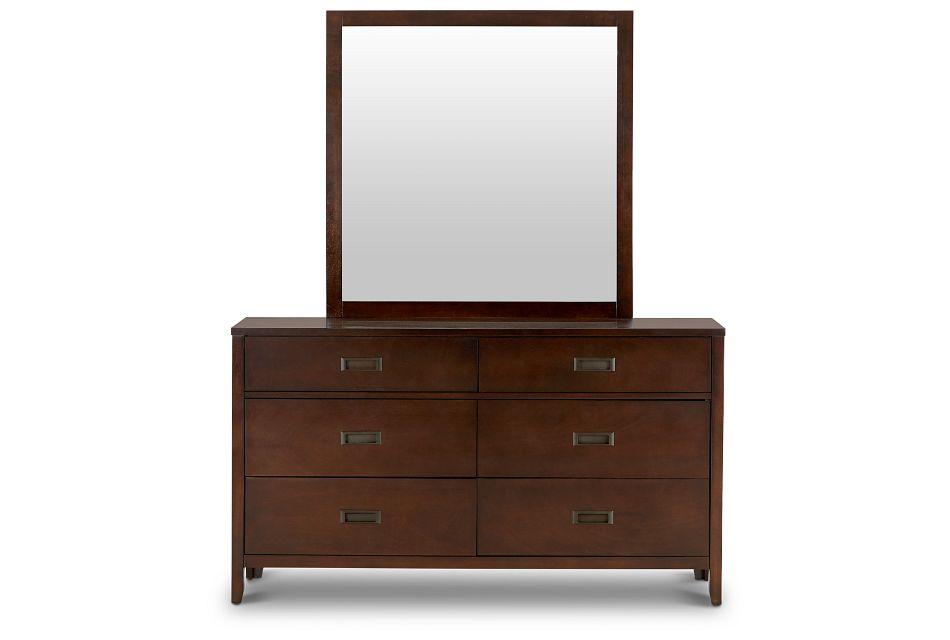 Chatham Dark Tone Dresser & Mirror,  (3)