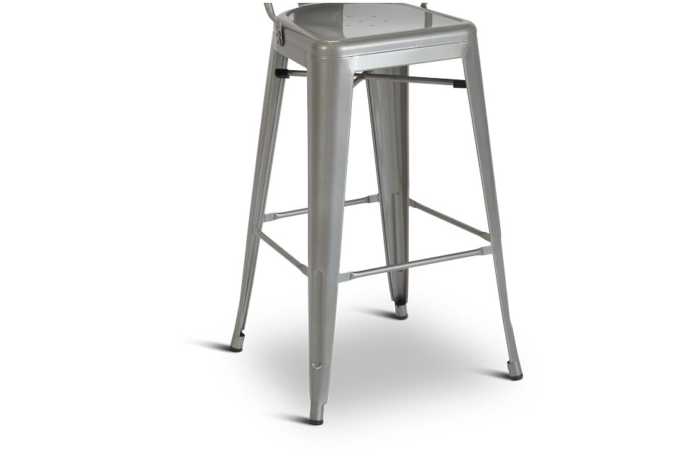 "Huntley Light Tone Metal 30"" Barstool"