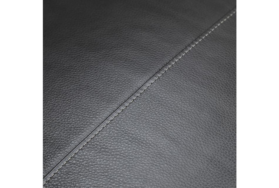 Weston Dark Gray Lthr/vinyl Recliner