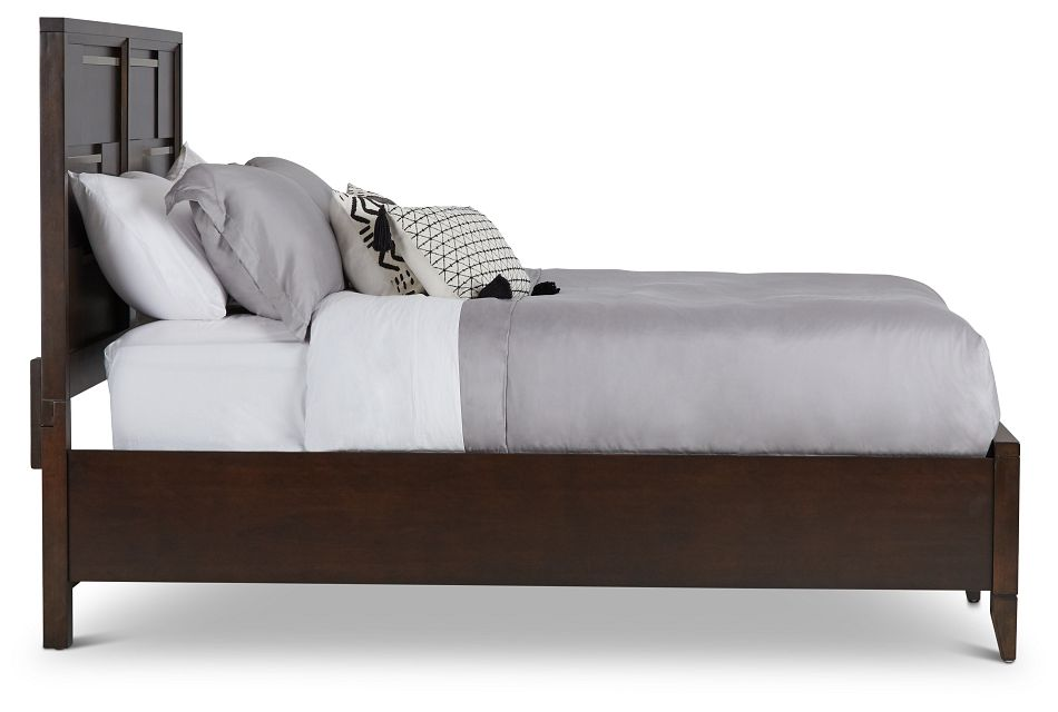 Sedona Dark Tone Panel Bed