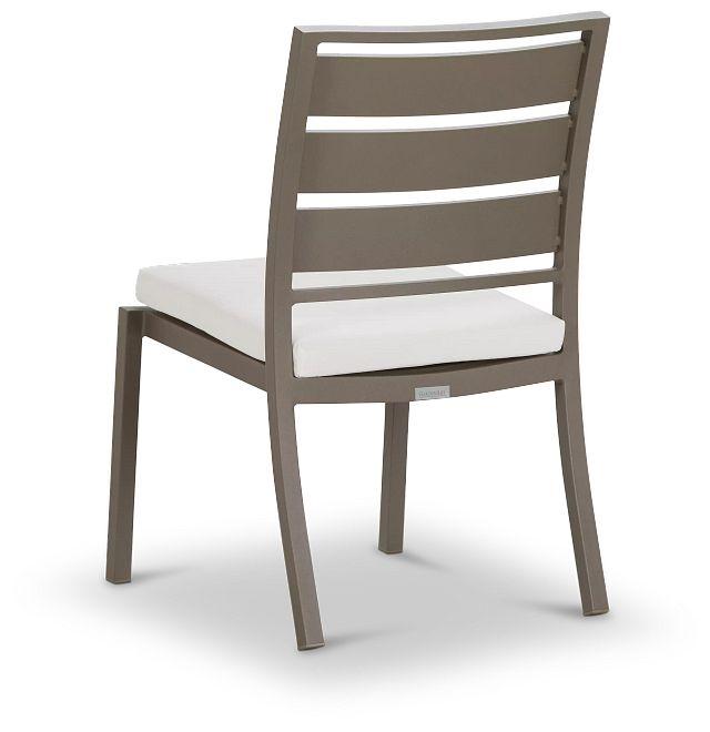 Raleigh Gray Aluminum Side Chair (3)