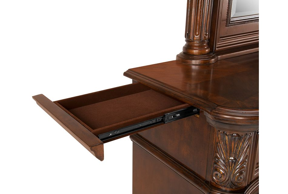Regal Dark Tone  Dresser & Mirror