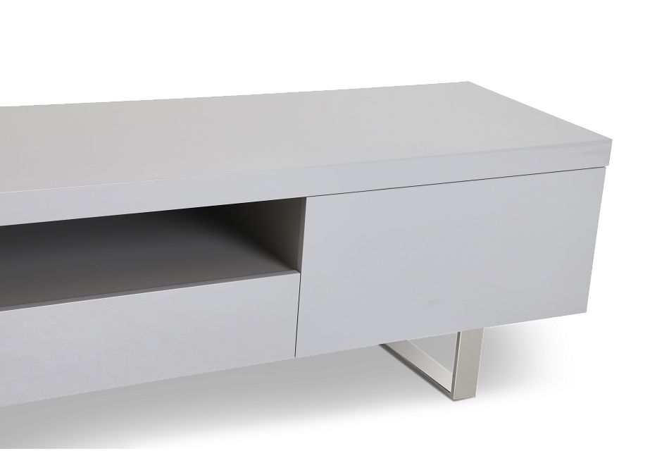"""Axel Gray 78"""" Tv Stand"""