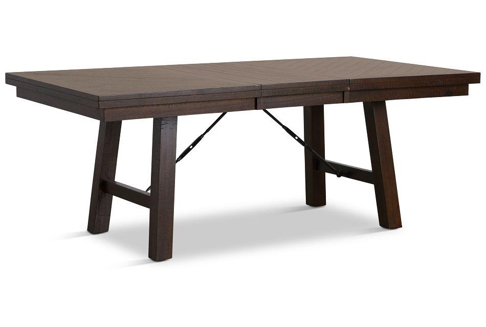 Jax Dark Tone Rectangular Table