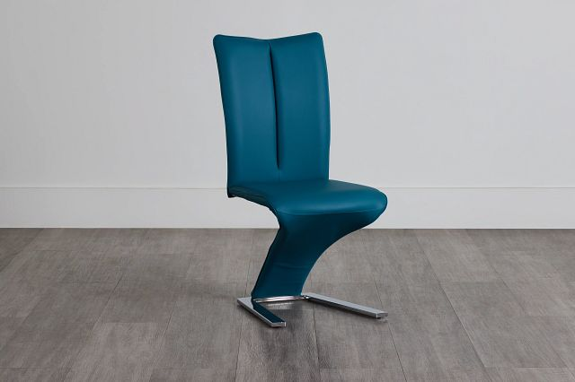 Catalina Teal Upholstered Side Chair (0)