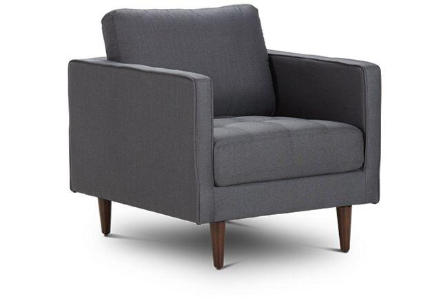 Rue Gray Fabric Chair