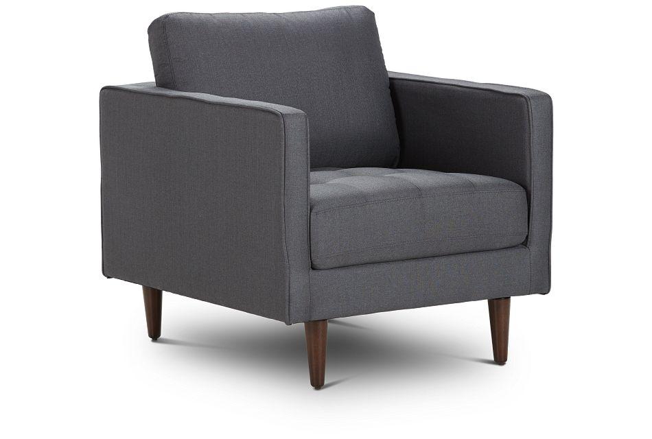 Rue Gray Fabric Chair,  (1)
