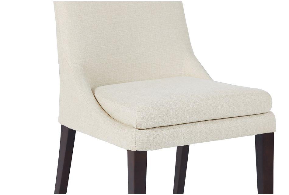 Gage Light Beige Upholstered Side Chair