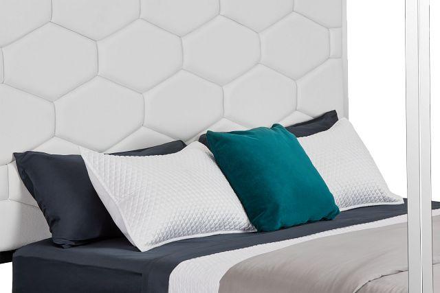 Cortina White Canopy Bed (1)
