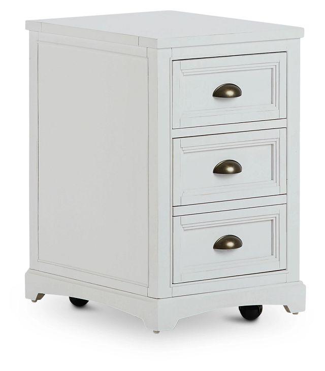 Heron Cove White File Cabinet (2)