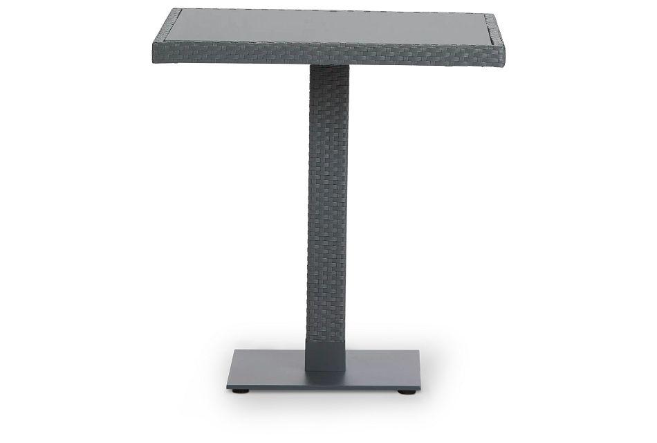 "Lisbon Gray 27"" Square Table"