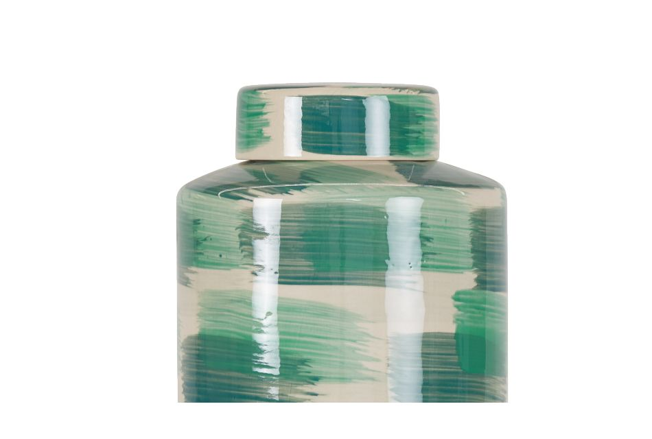 Nova Large Green Jar
