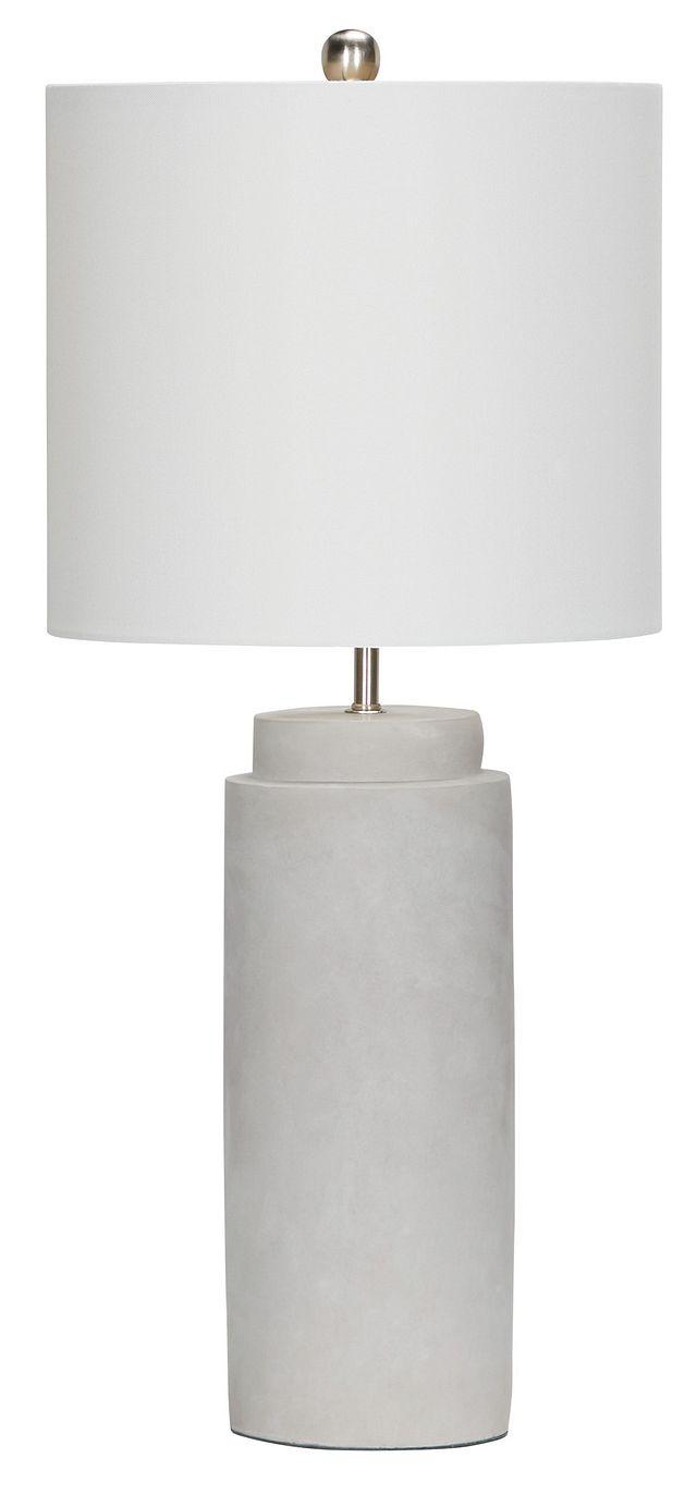 Aya Silver Table Lamp (1)
