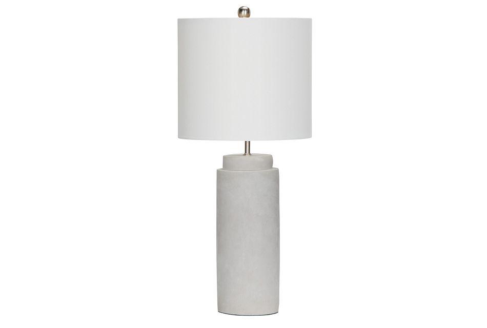 Aya Silver Table Lamp